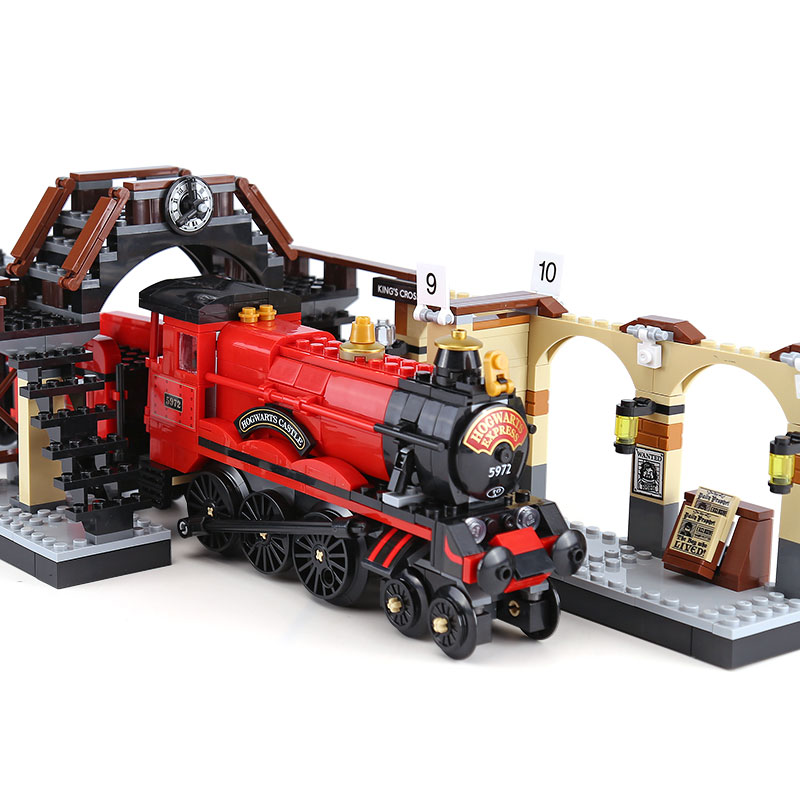 Magic Academy Ron Hermione Express Set Train blocs de construction briques enfants garçons jouets pour cadeau de noël Compatible Legoings jouets
