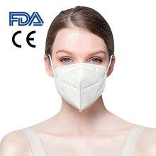100 шт анти-пыли лицо маска вируса гриппа бактериальной предотвратить анти-РМ2.5 эластичный пылезащитный стерео 3D дизайн высокое качество