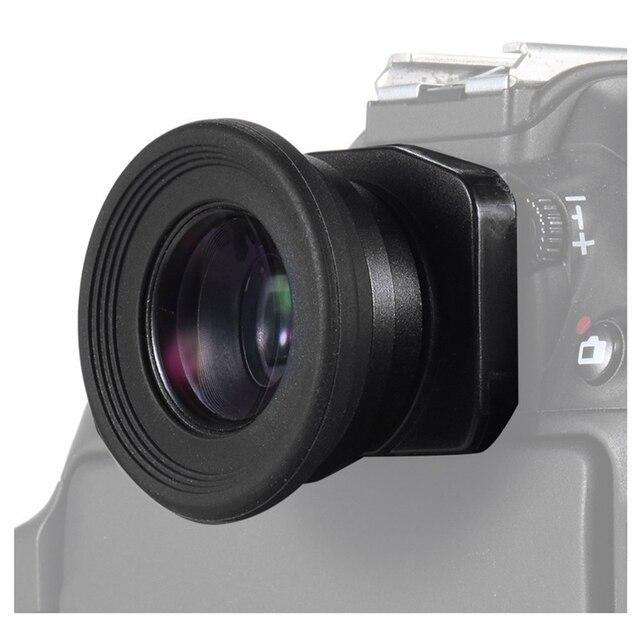 Hot 3C 1.51X Fixed Focus Viewfinder Eyepiece Eyecup Magnifier for Canon Nikon Sony Pentax Olympus Fujifilm Samsung Sigma Minolta
