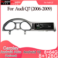 Android 10 Автомобильный мультимедийный DVD стерео радио плеер GPS навигация Carplay авто для AUDI Q7(2006-2009) 2G система 8u 2din