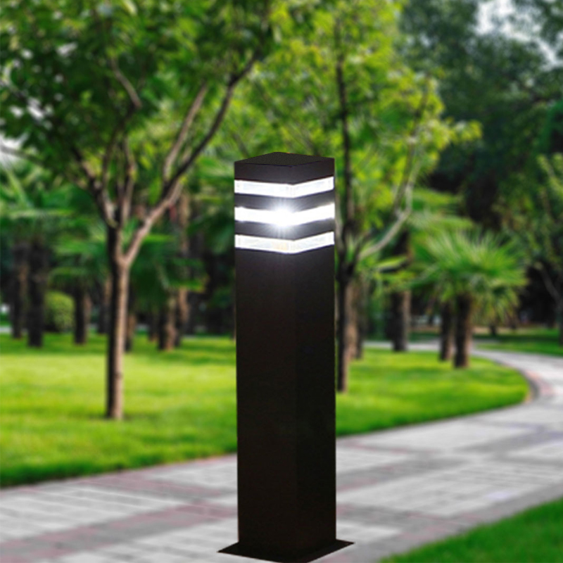 Aluminum Outdoor Led Lawn Light Modern Waterproof IP65 10W 60CM Lawn Lamps LED Landscape Light For Garden Yard AC85-265V