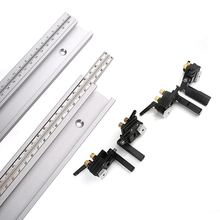 1Pc Scale Miter Slot Track Woodworking Table Saw Assembly Removable Left and Right Scale Sliding Slot Tools