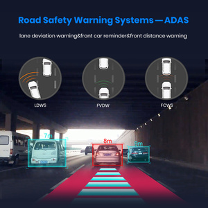 Image 4 - Junsun 4G Android Car DVR with Parking Monitor FHD 1080P RearView Mirror ADAS Dash Cam Camera Video Recorder Registrar Dashcam