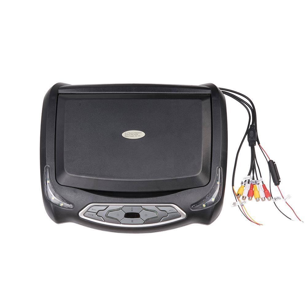 13,3 дюймов Автомобильный DVD плеер HD откидной вниз Авто верхняя крыша флип вниз тонкий верхний DVD плеер широкоугольный монитор - 6