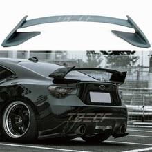 Forma do carro FRP sem pintura e cor Estilo GT BRZ tronco traseiro spoiler para Subaru BRZ 86 para Toyota 86 GT86