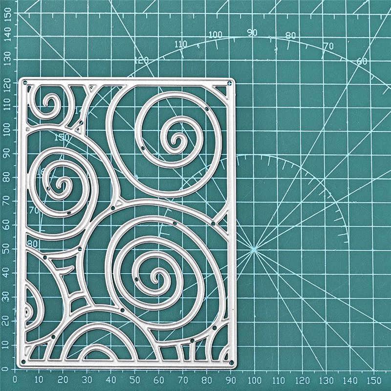 DiyArts rama metalowa matryca kreatywna karta notatnik 2020 nowa wersja produkcji szablon do wytłaczania proces cięcia Die Decoration
