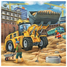 "5D DIY Diamond Painting Full Square/Round Drill ""Excavator Scenery"" 3D Diamond Rhinestone Embroidery Cross Stitch Gift Home(China)"