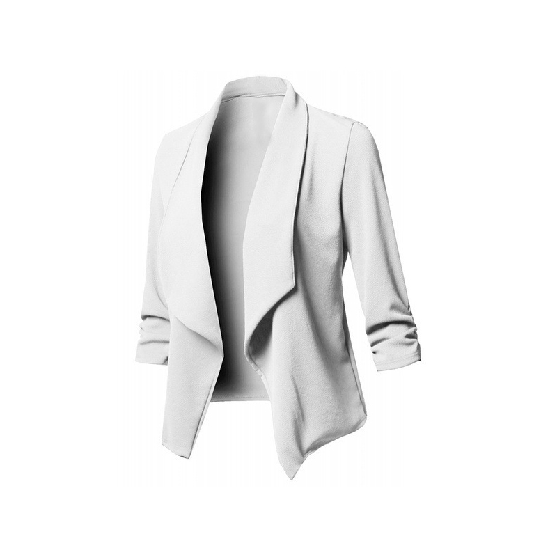 Vintage Autumn Winter Women Suit 10 Colors Notched Full Sleeve Solid Blazer Female Jacket Office Outfit Women Suits Female Sets