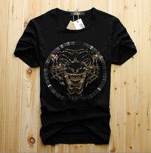2020 men Tshirt Diamond stone Plus Size tshirt male summer Hot drill men gifts top tees Ganbu(China)