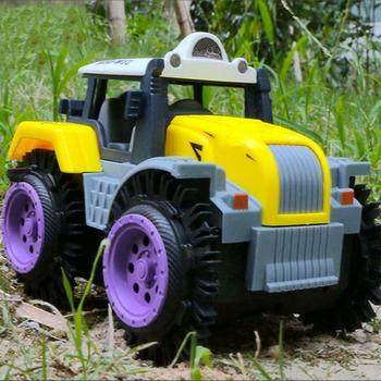 Remote Control Car Children Dump Truck Simulation 4 For Jeep Off RC Stunt Road Truck Toy Wheels Car Electric Drive I0Q7 image