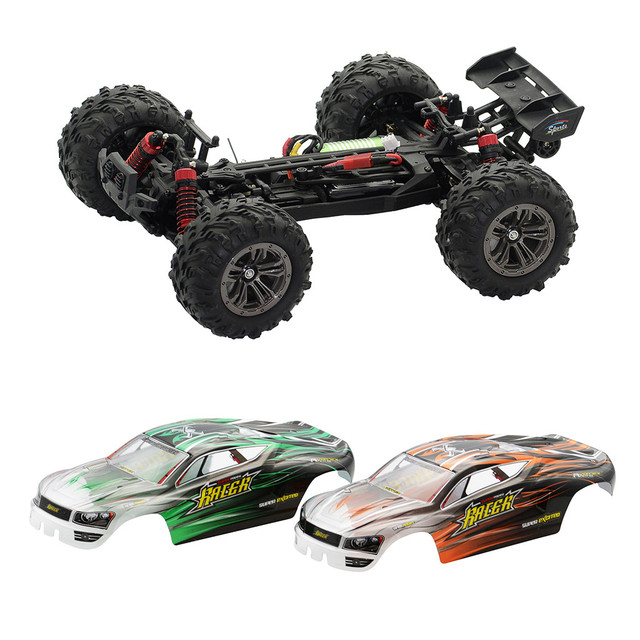 1:16 52Km/h 4WD RC Remote Control Off Road Racing Cars Vehicle 2.4Ghz Brushless Electric RC Car with Extra Car Cover#S3 3