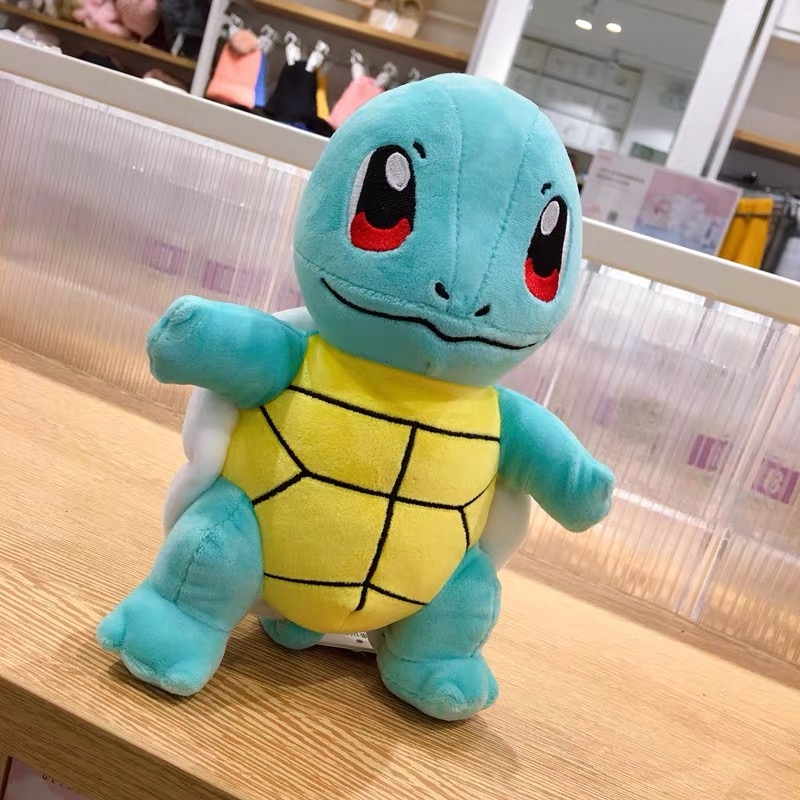 Japan Anime Charmander Pikachued plush toy Squirtle Bulbasaur Jigglypuff Lapras Eevee pokemoned Peluche Christmas gift for kids 6