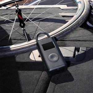 Image 2 - Xiaomi Mijia şişme hazine dijital izleme kompresörü lastik taşınabilir dahili pil çok nozul akıllı ev bisiklet