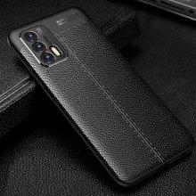 2021販売ケースrealme gtネオプロテクター耐震puレザー表面スマートフォンカバーのrealme gt電話バッグ6.43インチ