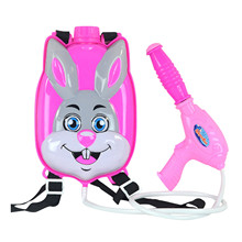Children's Animal Backpack Bomb Toy Pull-out Beach Play Water Spray Bomb Outdoor Beach Toys Kids Summer Drifting Water Pistol