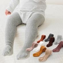 Rajstopy dziecięce wiosna jednolity kolor z miękkiej dzianiny ciepłe rajstopy dla niemowląt noworodka maluch mocno chłopiec dziewczyna rajstopy dzieci dziewczyny ubrania