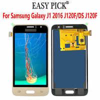 Pour Samsung Galaxy J1 2016 J120F/DS J120F J120M J120H/DS J120G LCD écran tactile numériseur assemblée