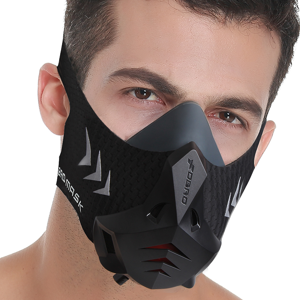 FDBRO Training Phantom Sports Mask Fitness Workout Running Resistance Cardio Endurance High Altitude Athletics Cycling Mask 3 0 in Cycling Face Mask from Sports Entertainment
