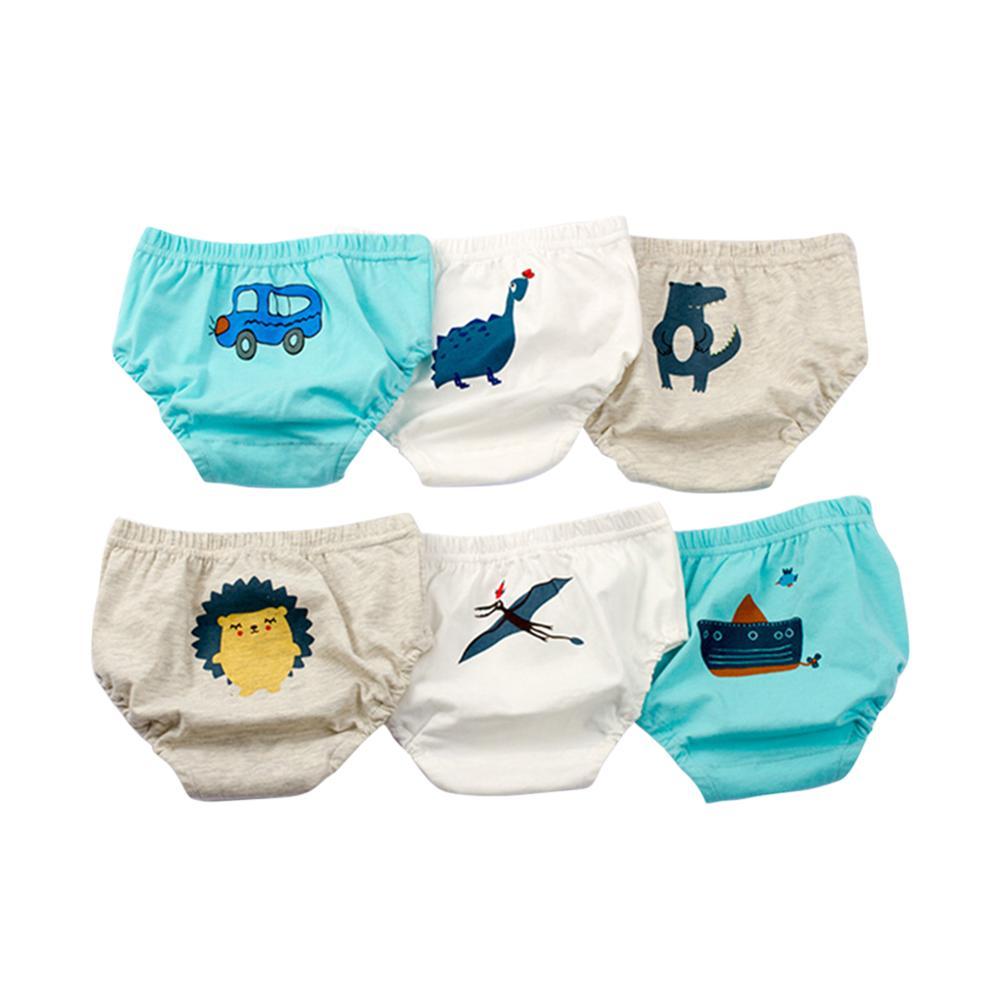 Baby Boys Cotton Underwear Cartoon Children Cute Breathable Shorts Panties for Kid BoysTeenager Underpants