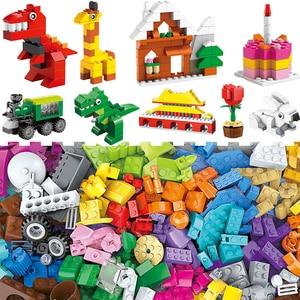 Image 3 - 1000 pcs parts pieces Creative Designer DIY Toys building blocks MOC creator Classic sets removal pliers panel tools kits