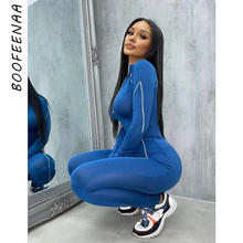 BOOFEENAA Sporty Long Sleeve 2 Piece Jumpsuit Clothes for Women 2020 Fall Winter Outfit Ladies Tracksuit Matching Sets C87-EZ37