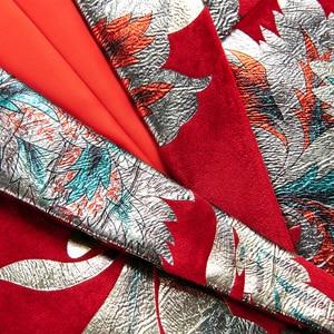 Image 3 - Shenrun hommes rouge Blazer veste mode Slim Fit haute qualité blazers occasionnels marié vestes hôte chanteur scène robe M 6XL grande taille