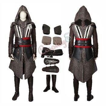 Callum Lynch Costume di Assassin 'S Creed Cosplay Versione Deluxe Set Completo