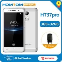 Оригинальная версия Smartphone HT37 Pro 4G смартфон MTK6737 5,0 дюймов HD Android 7,0 3 ГБ + 32 Гб 13 МП 3000 мАч отпечаток пальца ID мобильный телефон