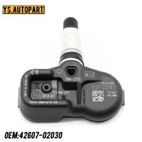 42607-02031 sensor de monitoramento de pressão 433 mhz do pneu trye para toyota avensis aygo 2008-2022 tpms sensor PMV-C210 42607-02030