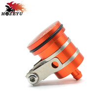 Motorcycle CNC rear brake pump fluid tank storage liquid oil cup brake fluid reservoir for KTM 690 DUKE R 990 SUPER DUKE 125DUKE