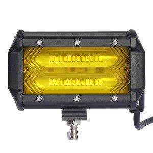 Продажа от производителя новый двойной длинный светильник 72 Вт поперечная модификация лампа для обслуживания всадников светодиодный свет...
