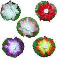 5-Цвет Led Цвет Фул лотоса лампа крик лотоса в форме цветка лампы электронные свечи лампы лотоса подходит для O