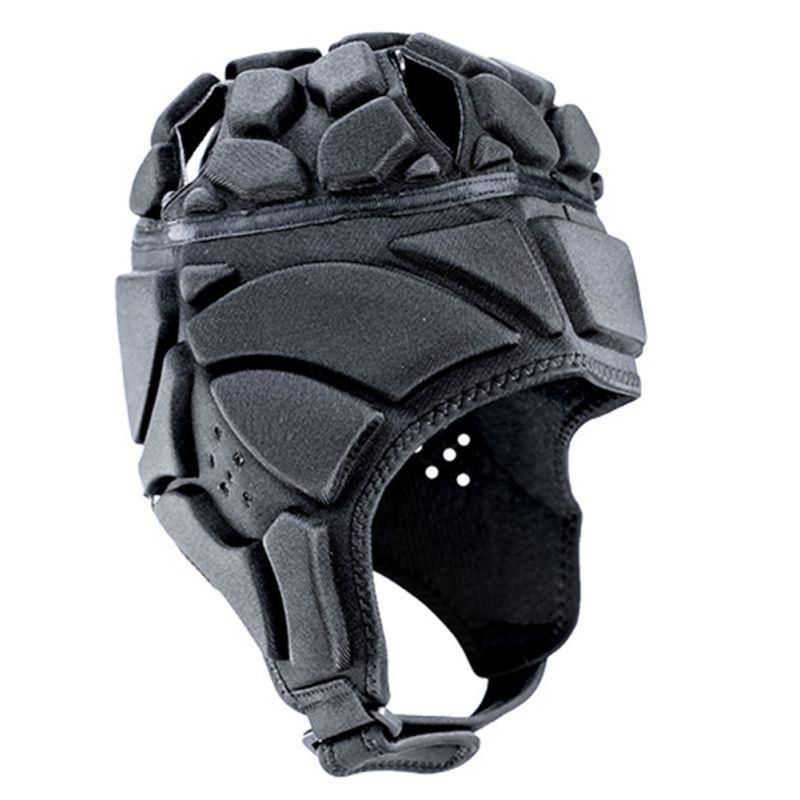 For Children Adult Men's Sport Goalkeeper Adjustable Soccer Goalie Helmet Head Protector Support Accessories