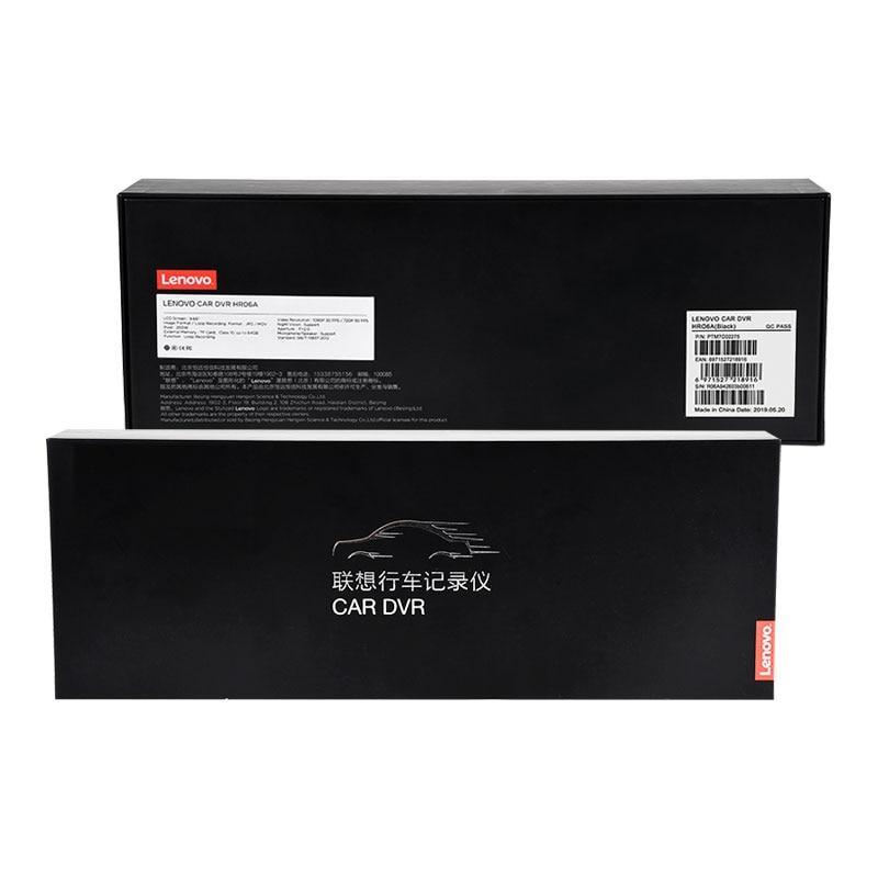 10'' Original Lenovo Streaming Media Car DVR Rear View Mirror With 16GB TF Card Dash Cam HD IPS Touch Screen Night Vision Camera - 2