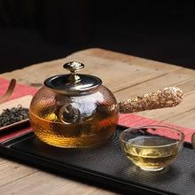 Напрямую от производителя деревянной ручкой молоток стеклянный чайник для дома и офиса использовать чайный набор чай церемония аксессуары воды кипятить