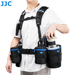 Image 5 - JJC Vest style Photography Belt & Harness System For JJC DLP Series, Lowepro S&F Series Lens Pouches For Canon Nikon Sony Pentax