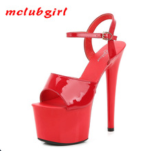 Shoe Sandals Club Platform-Color High-Heels Party Drop-Sale Sexy Women LFD 13 15-17cm