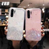 YBD Soft Shiny Bling Case for Xiaomi Redmi Note 8 pro 7 pro K20 Pro Coque for Xiaomi mi 9 9t cc9 6 6x 8 lite 8 se Case 8T