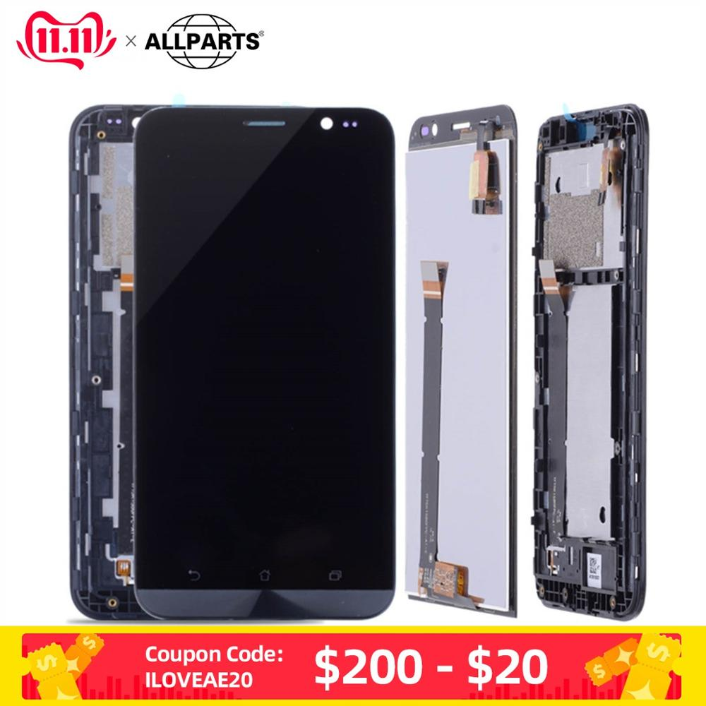 Original <font><b>Display</b></font> For ASUS Zenfone Go <font><b>ZB551KL</b></font> LCD Touch Screen Assembly with Frame For ASUS <font><b>ZB551KL</b></font> <font><b>Display</b></font> Adr On Go TV X013D image