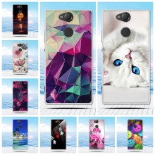 Case For Sony Xperia XA2 XA 2 Case Cover Dual Cute Soft Silicone Fundas Cover For Sony Xperia XA2 Ultra XA 2 Cover Bumper Coque(China)