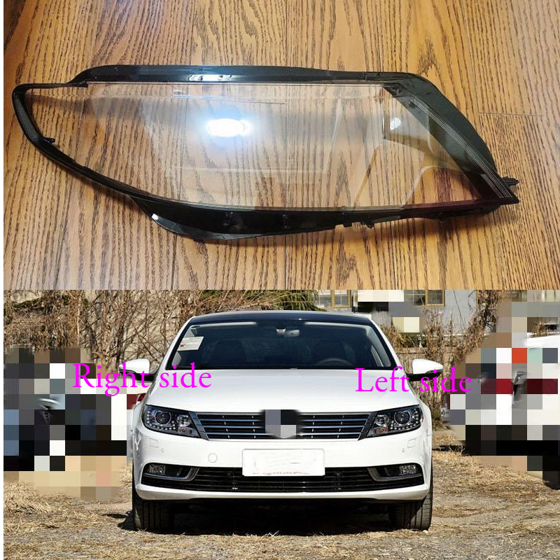 For Volkswagen VW  CC 2013 2014 2015 2016 2017 2018  Car Headlight cover Headlamp Lens Auto Shell Cover