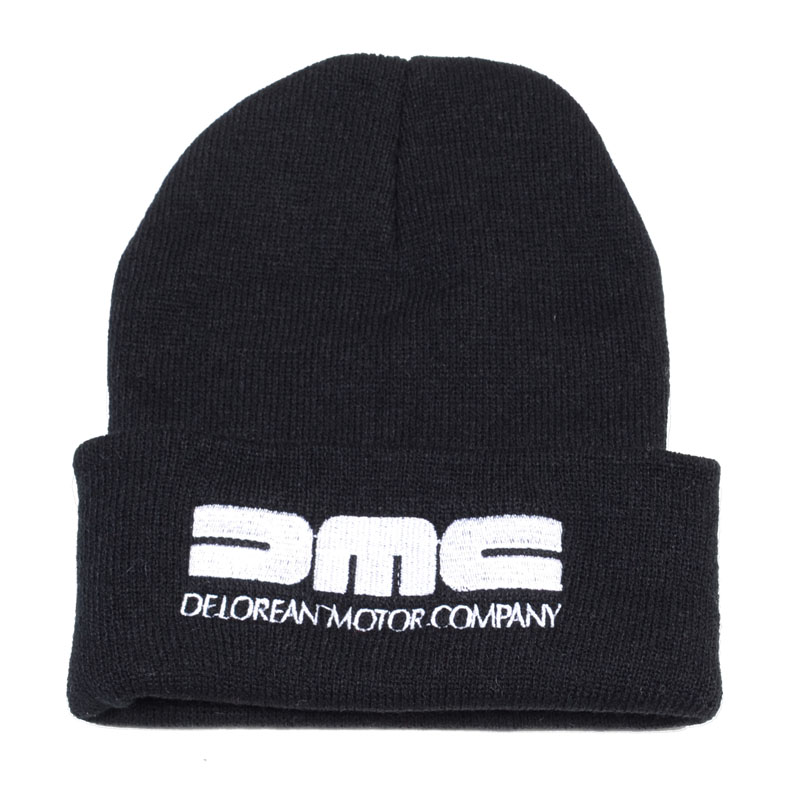 Brand Delorean Motor Company Beanies Cap Back To The Future Film Caps Fashion Unisex Winter Warm Knitted Hat