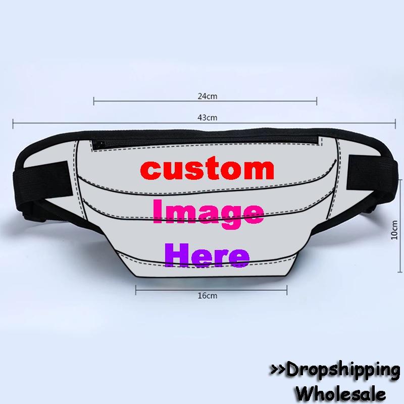 2019 Colorful Greyhound Dog Custom Waist Bag Women's Belt Bag Travel Men Fanny Pack Hip Bum Bags Female Purse Ladies Belly Pouch