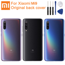 Original XiaoMi Glass Battery Rear Case For Xiaomi Mi9 M9 Phone Backshell Back Cover Cases