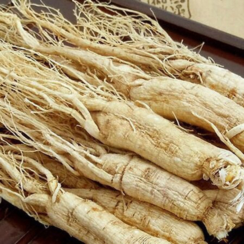 100g 1000g High quality pure natural wild Changbai Mountain ginseng dried white ginseng root  enhance immunity free shipping|Hanging Baskets| |  - title=