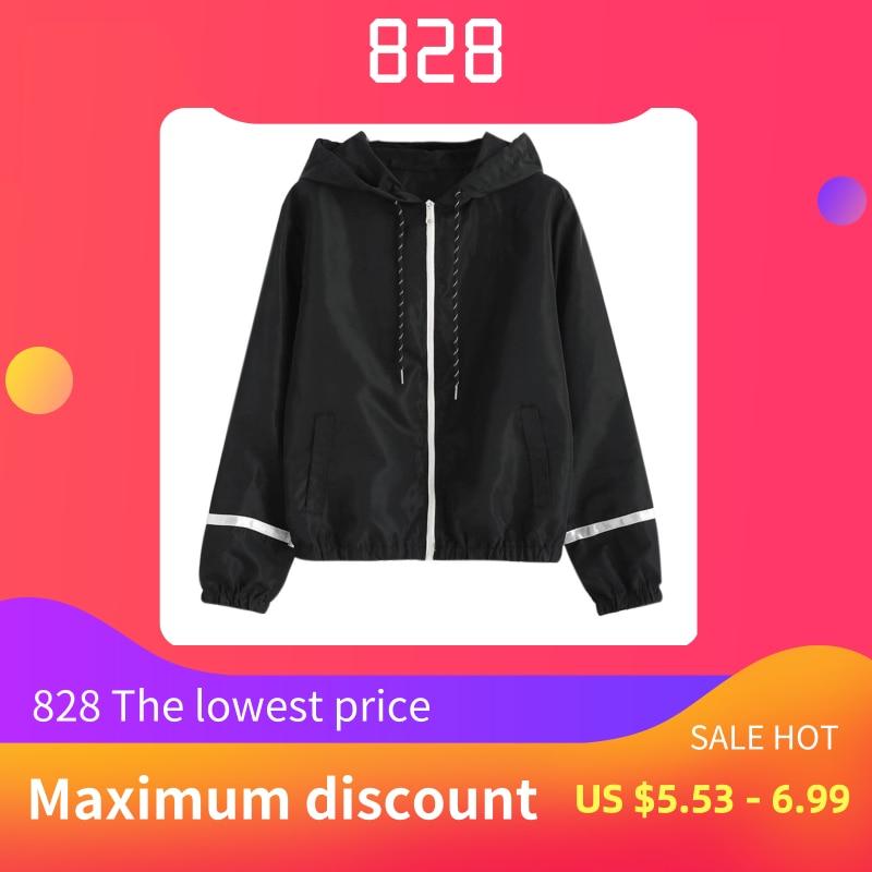 ISHOWTIENDA 2019 Hoodies New Fashion Women Solid Sweatshirts Lantern Full Sleeve Zipper Hooded Sweatshirt Blouse Sudadera Mujer