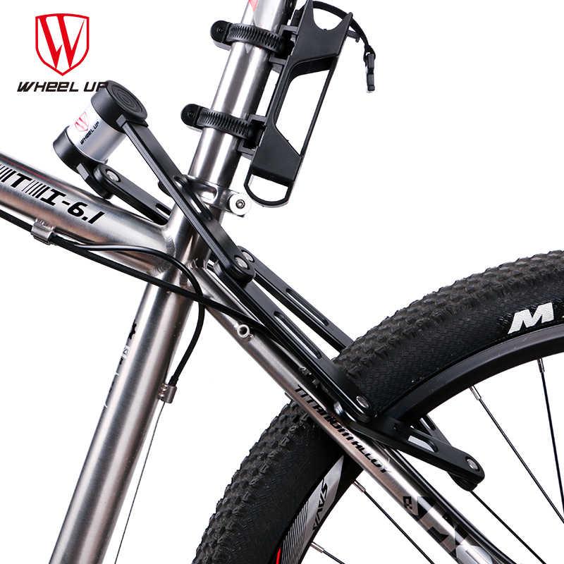 Wheel Up Anti-Cut Safety MTB Sepeda Lipat Kunci Profesional Anti-Pencurian Baja Paduan Lipat Sepeda Kunci Kunci kata Sandi