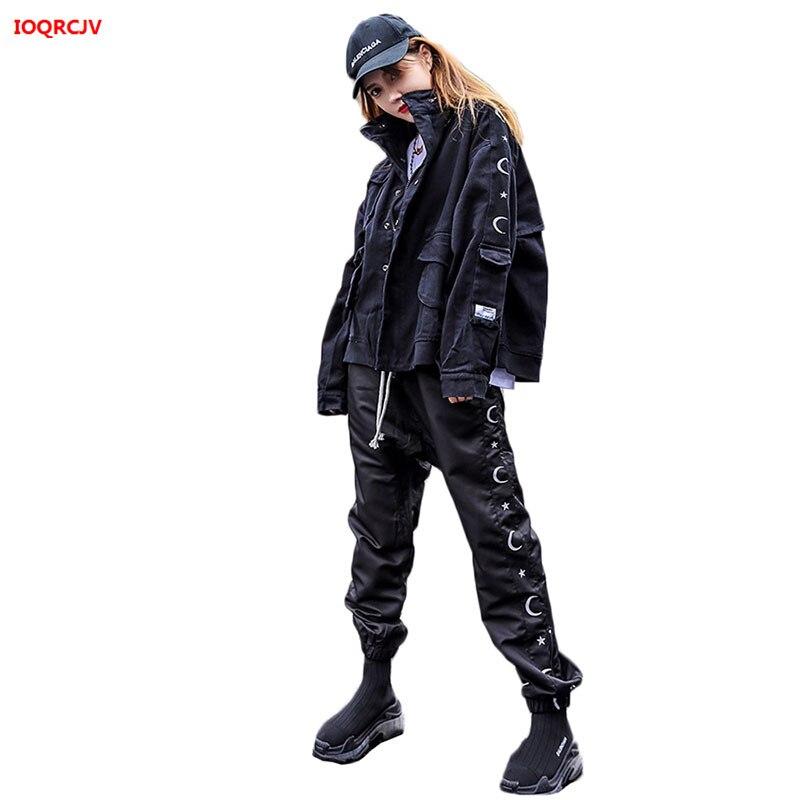 BF Sports Suit Female Zipper Jacket + Trousers Sweatshirt Set Two-Piece 2020 Spring Autumn Large Size Casual Tracksuit Set W1845