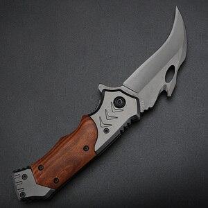 Image 5 - XUANFENG חיצוני סכין מתקפל סכין קמפינג קשיות גבוהה סכין טקטי נייד סכין wild הישרדות טופר סכין