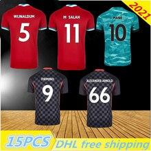 New Camiseta Futbol Mohamed MANE M.SALAH MHENDERSON Soccer Jersey Football Shirts 2021 A.BECKER SHAQIRI Ballon De Foot